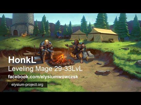 HonkL | WoW Vanilla - Elysium | Doháníme Koviho !! 31-35 lvl
