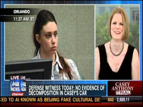 Meg Strickler on Fox News Channel Happening Now with Jon Scott on 6/22/11 discussing Casey Anthony