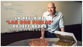 La regla de 'las dos pizzas' de Jeff Bezos para juntas más efectivas