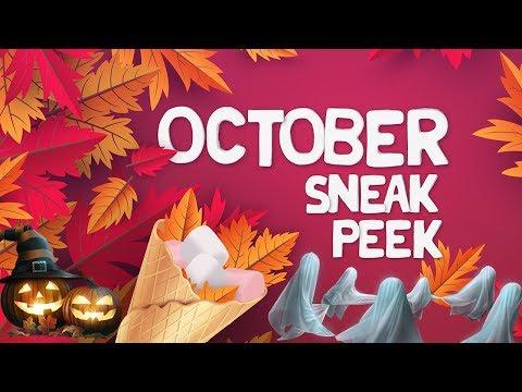 October Sneak Peek - Lady Popular
