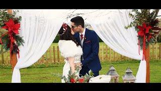 Vídeo de boda en Asturias. Una boda navideña y romántica en Oviedo
