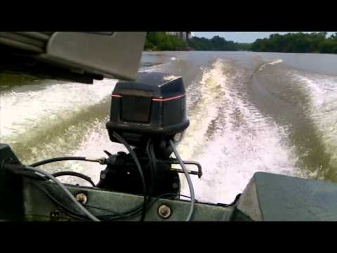 1994 48 Evinrude won't idle, and stay running at high RPMs