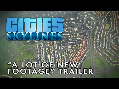 Cities: Skylines Deluxe Edition Steam Key GLOBAL - video trailer