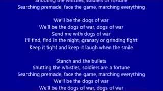 AC/DC - Dogs of War (lyrics)
