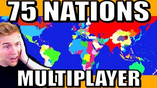 Every Country Controlled by a Player! (Massive HOI4 Multiplayer)