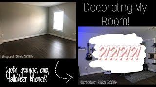Decorating My (Alt, Emo, Goth...) Room/Moving.