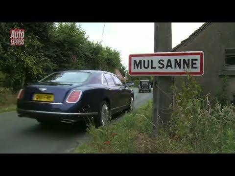 Bentley Mulsanne driven to Le Mans - Auto Express