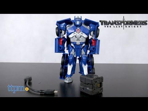 Transfromers The Last Knight Allspark Tech Starter Pack Optimus Prime from Hasbro