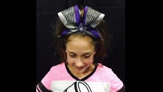 How To Wear A Cheer Bow Tutorial