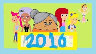 HAPPY NEW YEAR 2016  | KIDZONE CHANNEL