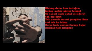 Gilangfitrah - Tinggi Nafas ( Lyric Video )
