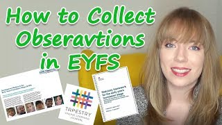Collecting Observations In EYFS