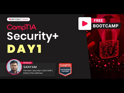 Day 1 - Security+ Boot camp | CompTIA Security+ (SY0-601) Exam ...