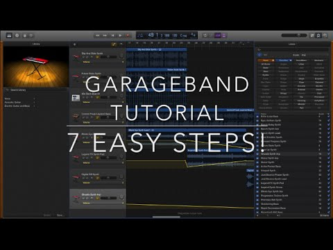 Garageband Tutorial (Beginners) – How to make a Song Using Loops | JustBecause