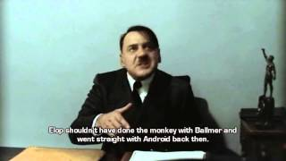 Hitler is informed Nokia has just released the Nokia X.