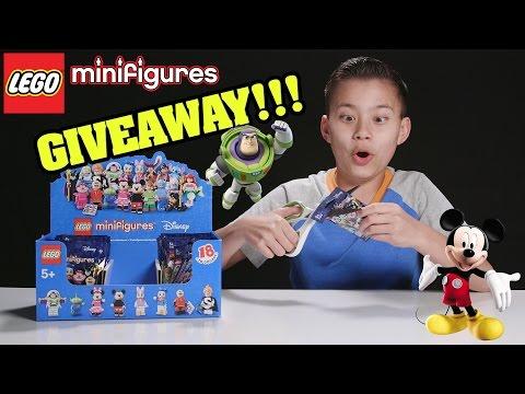 LEGO DISNEY MINIFIGURES!!! PART 5 - Minifigure GIVEAWAY!!!