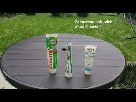Zahncreme - mit oder ohne Fluorid