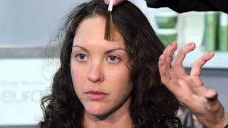 Highlights For Dark Brown Hair, Blue Eyes & Pale, Freckled Skin : Hair Highlights
