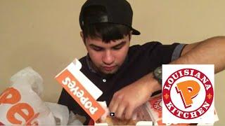 ME EATING POPEYES MUKBANG - Video Youtube