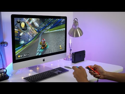 How to play Nintendo Switch on an iMac's display