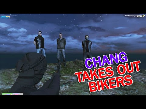 Download NoPixel CHANG GANG WAR WITH BIKERS? LEANBOIS ARE
