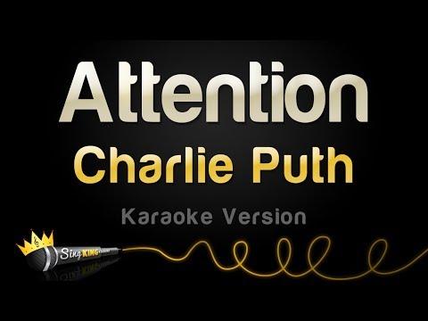 Charlie Puth - Attention (Karaoke Version)