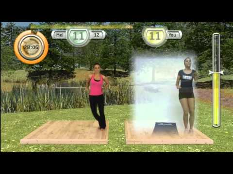 Видео № 0 из игры Get FIT with MEL B (Б/У) [X360, Kinect]