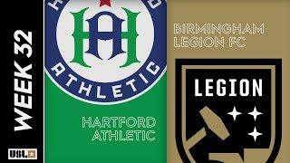 Hartford Athletic vs. Birmingham Legion FC: October 9, 2019