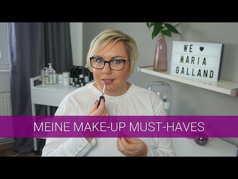 Lieblings Make Up Produkte von Maria Galland / Ich zeige sie dir !