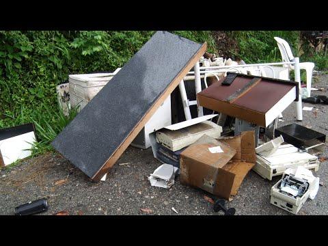 Descarte irregular de lixo é um problema generalizado em Nova Friburgo