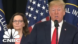 President Donald Trump: Gina Haspel Will Never Back Down | CNBC - Video Youtube