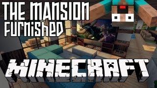 Minecraft Mansion HD - Furnished Interior