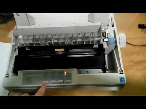 Como configurar la Impresora Epson LX300+II - Español