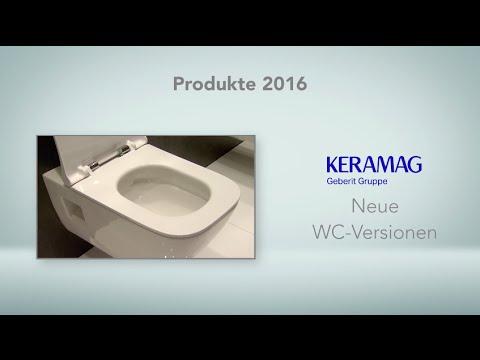 Keramag: WC-Versionen