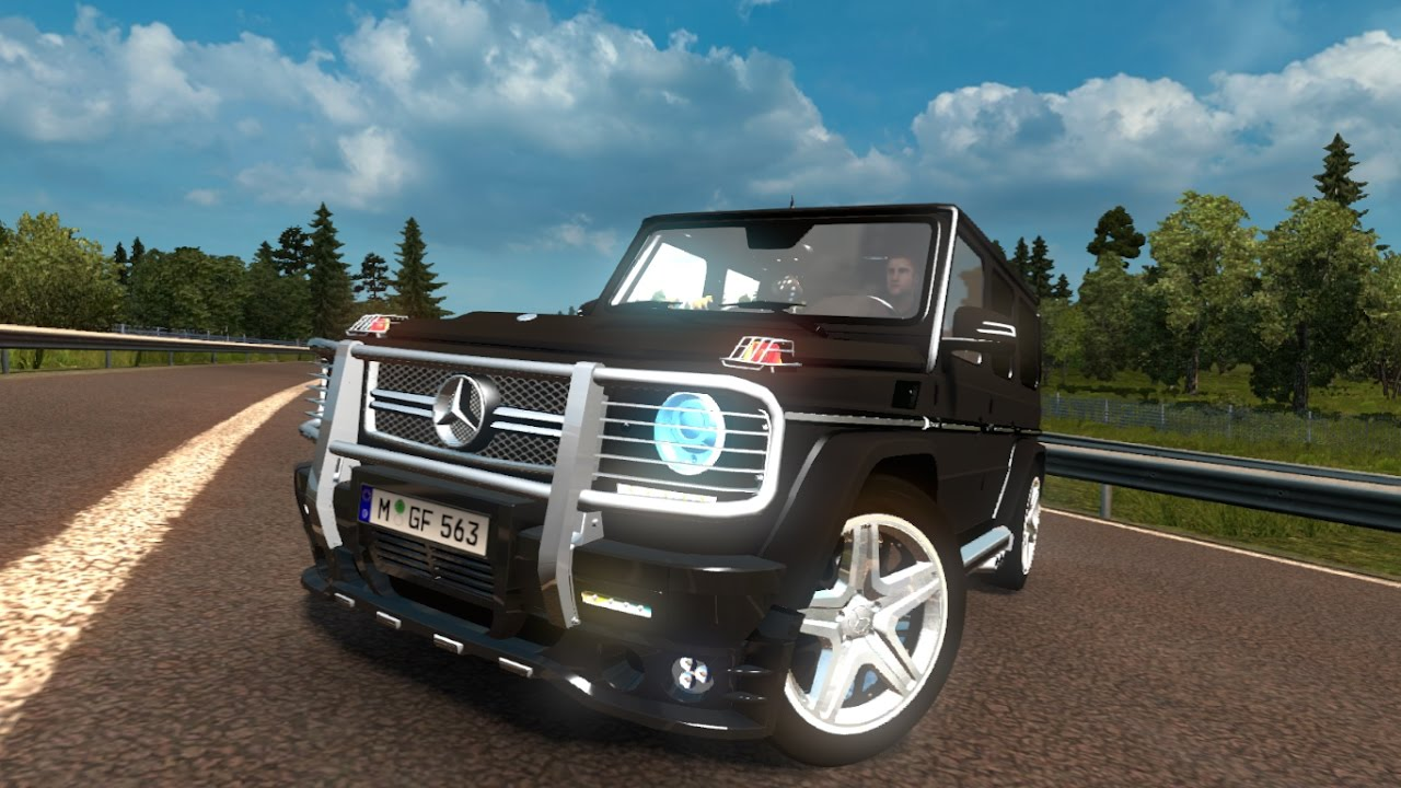 Mercedes benz g65 amg 350d mod for ets 2 for Mercedes benz g65 amg