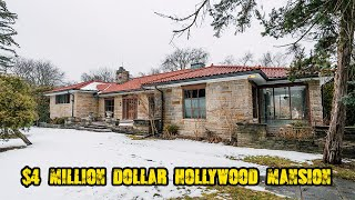 Abandoned Multi Million Dollar 1940s Hollywood Estate Home (Forgotten Homes Ontario Ep.50)