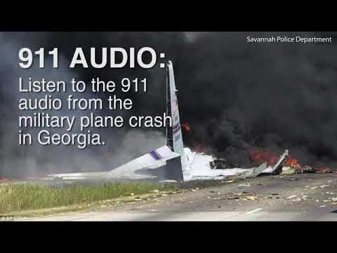 Police release 911 audio from Georgia military plane crash