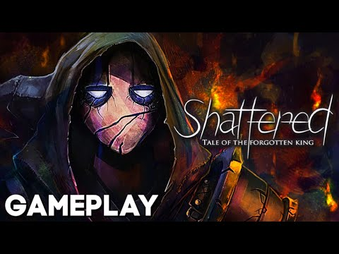 Gameplay de Shattered Tale of the Forgotten King