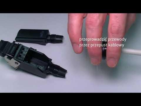 Wilo-Stratos MAXO: Jak złożyć wtyczkę Wilo Konektor - zdjęcie