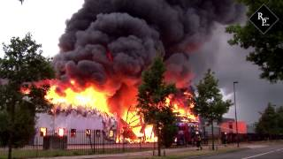 Fire-Up; grote brand Oisterwijk