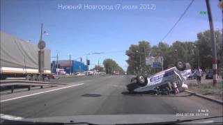 Жестокие аварии, лоб в лоб, видеорегистратор