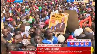 REVEALED: Why NASA chose to hold their rally in Donholm