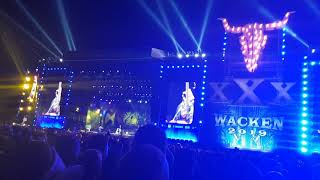 Sabaton Ft Tina Guo   Swedish Pagans (Live @ Wacken Open Air 2019)