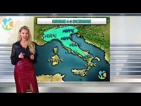 METEO - TEMPERATURE in calo e prime gelate in pianura sull'Italia
