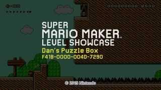 Principles of Puzzle Game Design in Mario Maker