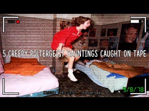 5 Creepy Poltergeist Hauntings Caught On Tape!