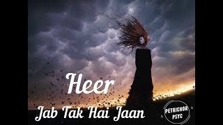 Heer - Jab Tak Hai Jaan (Lyrics) HD - YouTube