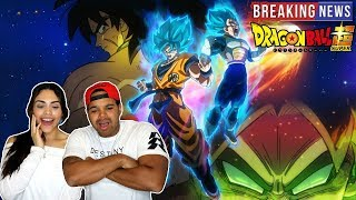 BROLY IS BACK!!!! Dragon Ball Super Movie 2018 Huge News!!!