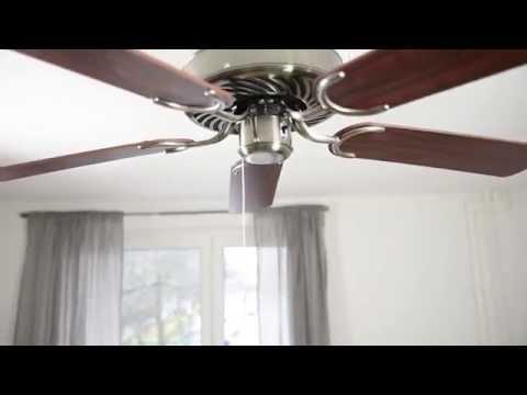 Wärmerückführung durch Deckenventilatoren Video Pepeo GmbH