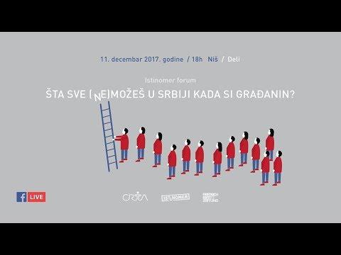 """""""Istinomer"""" forum: Institucije ne rade svoj posao"""